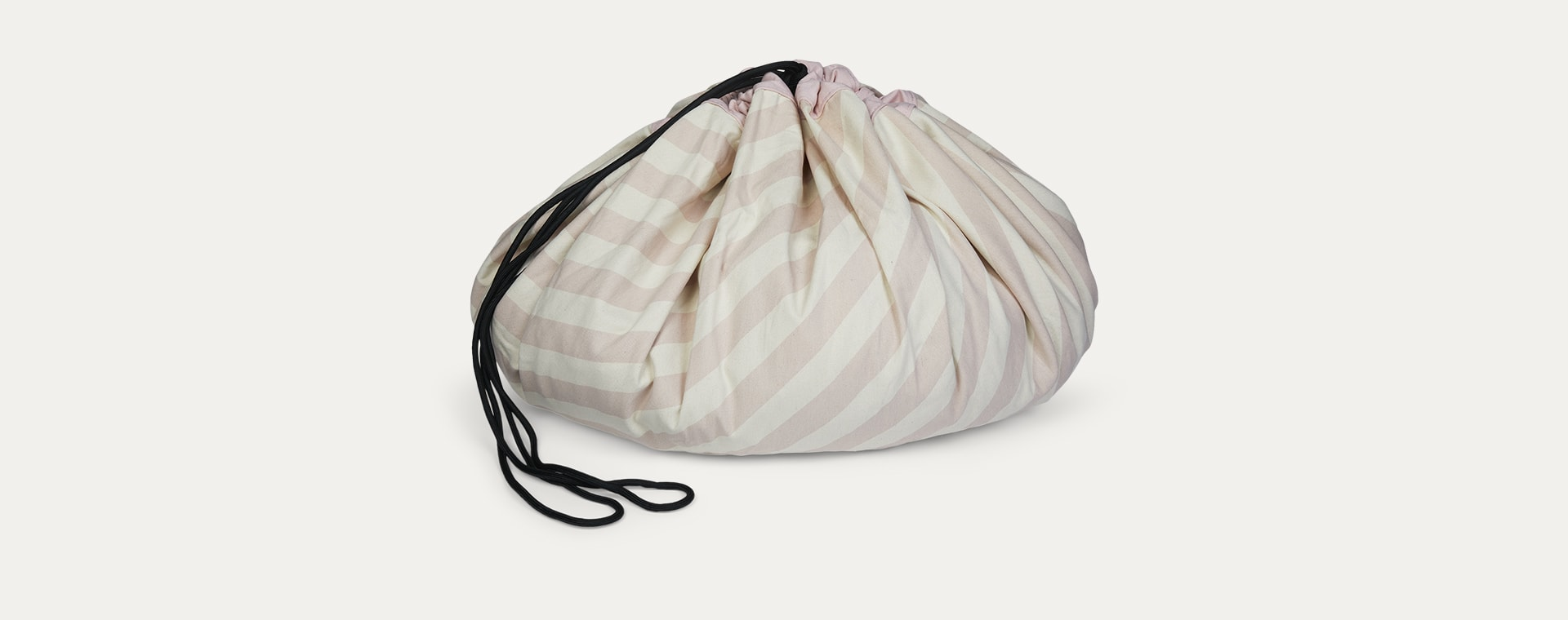 Stripes Pink Play & Go Storage Bag