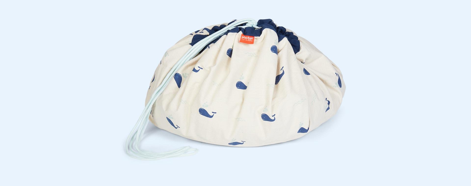 Whale Play & Go Storage Bag