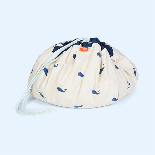 Whale Play & Go Storage Bag