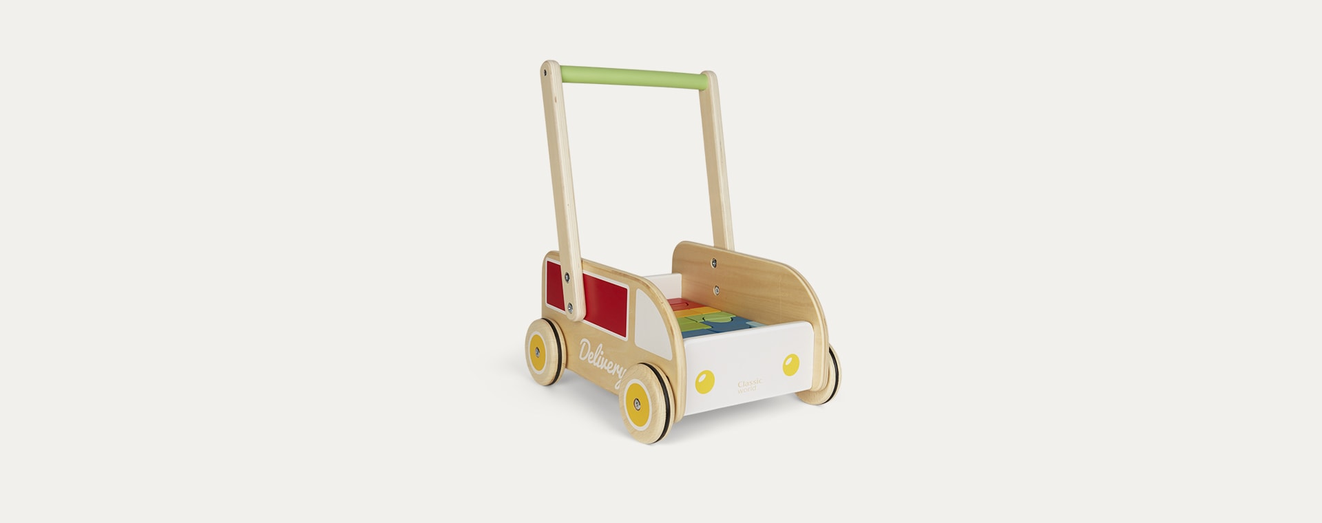 Multi Classic World Delivery Truck Baby Walker
