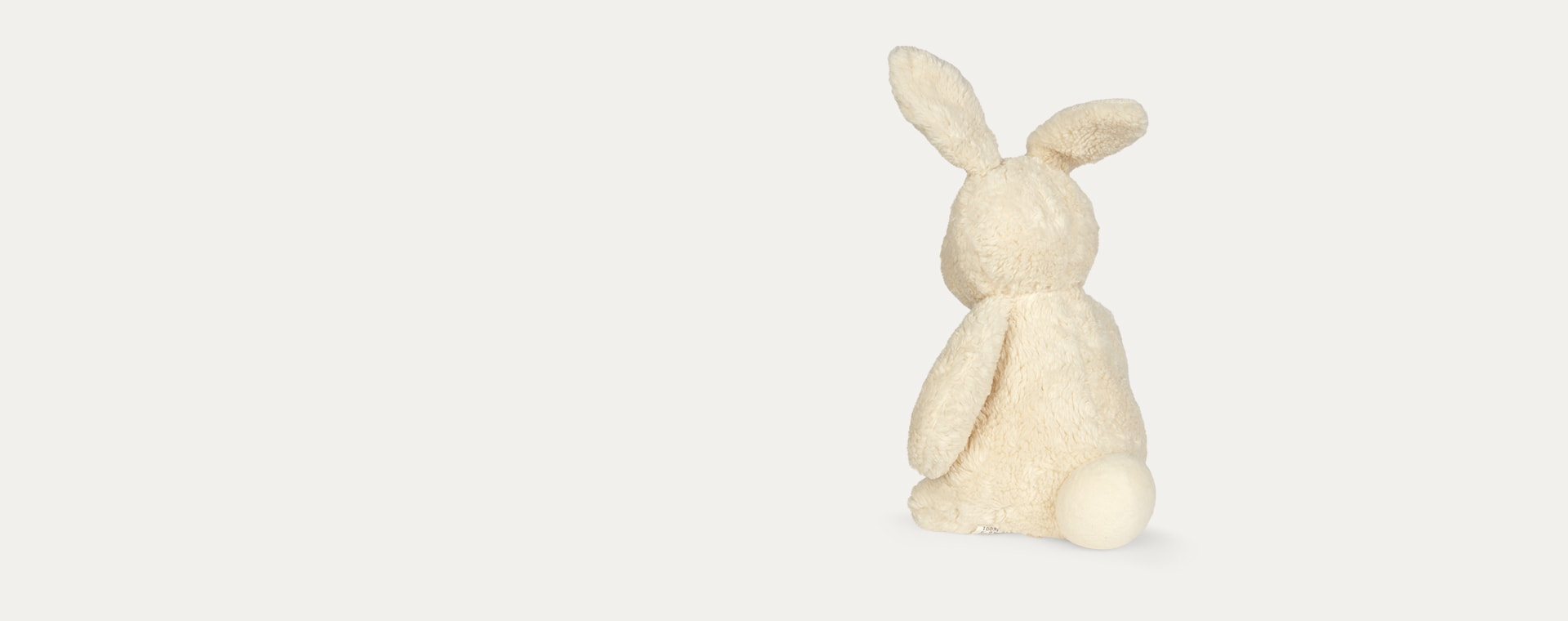 Off White Franck & Fischer Carla Rabbit Cuddly Toy