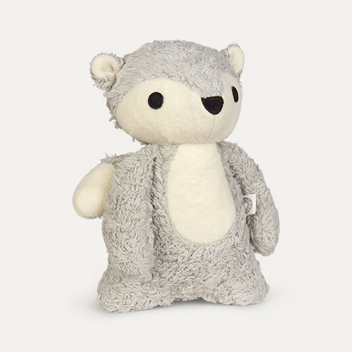 Grey Franck & Fischer Mikkel Fox Cuddly Toy