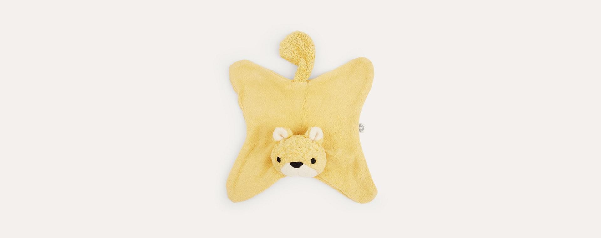 Yellow Franck & Fischer Anika Squirrel Comforter