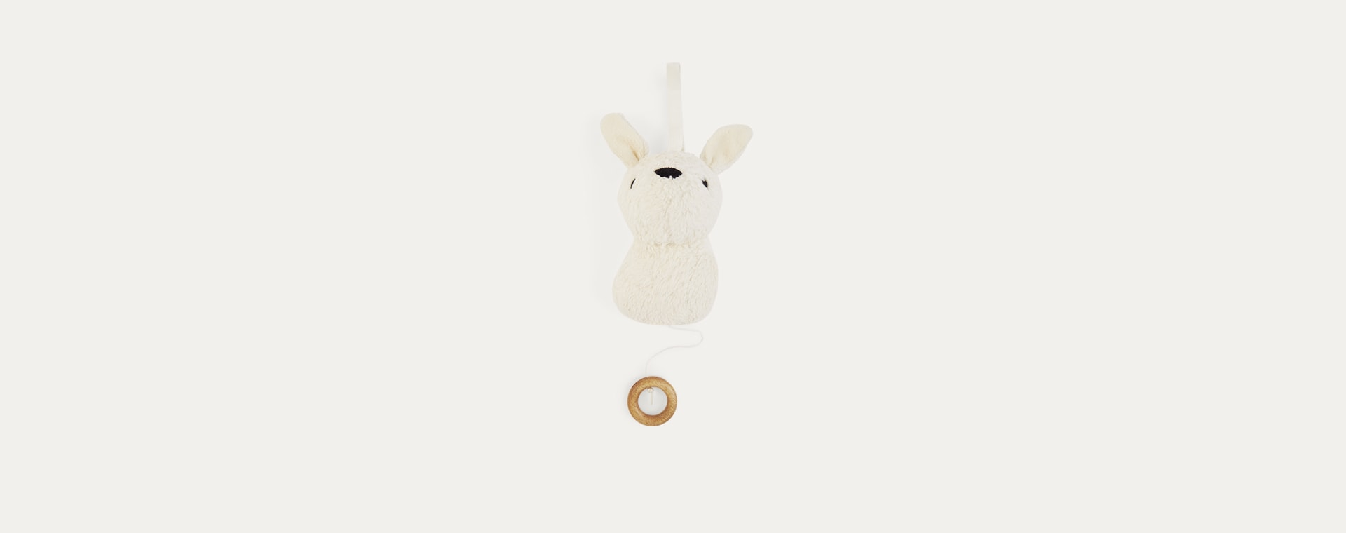 Off White Franck & Fischer Aura Rabbit Musical Toy