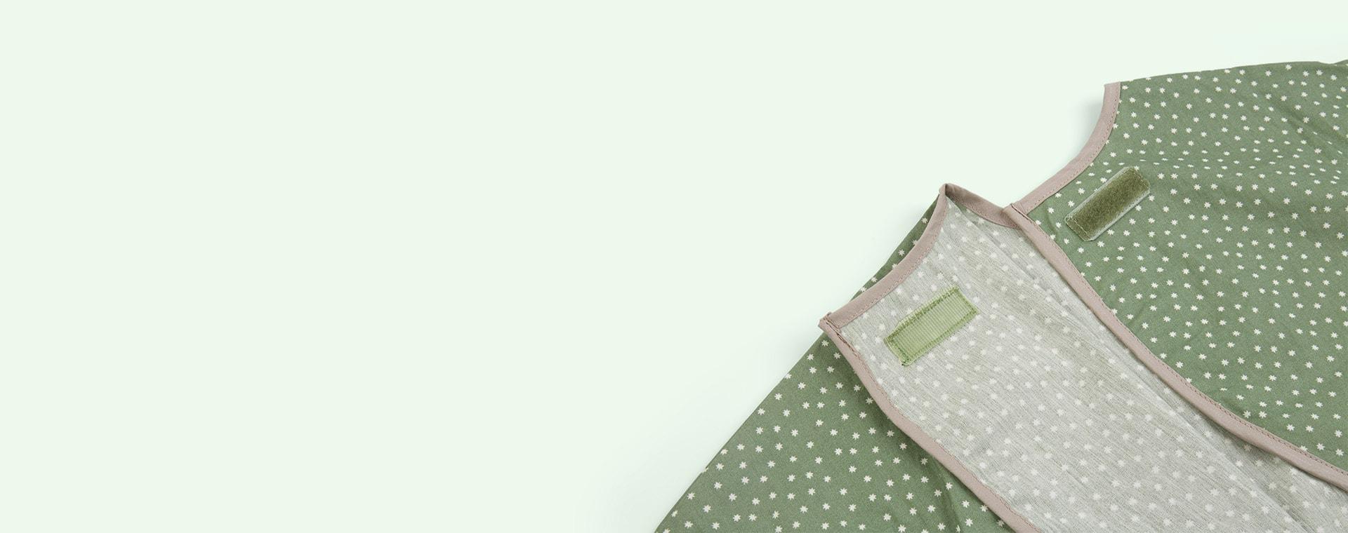 Green Franck & Fischer Long Sleeve Apron