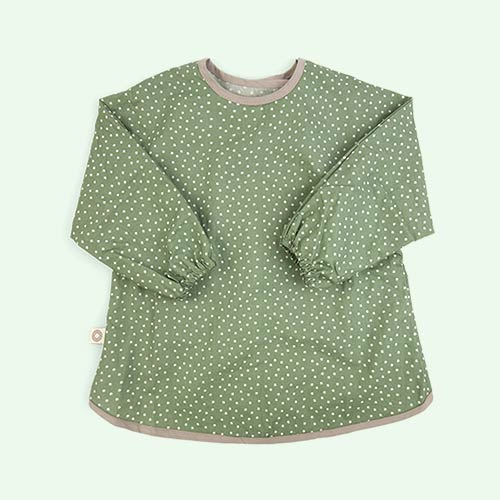 Green Franck & Fischer Long Sleeve Apron