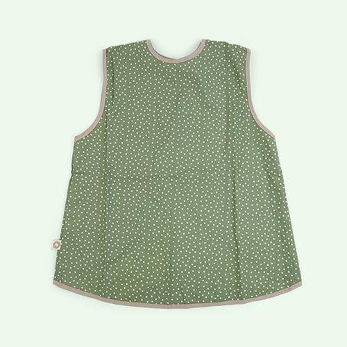 Green Franck & Fischer Short Sleeve Apron
