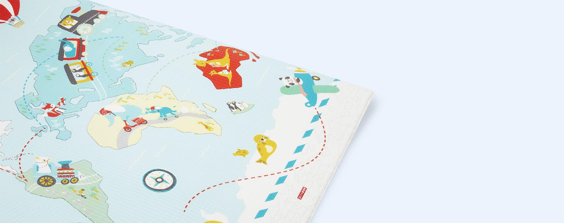Multi Skip Hop Doubleplay Reversible Playmat - Little Travelers