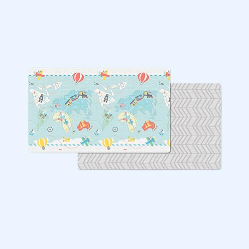 Multi Skip Hop Doubleplay Reversible Playmat - Little Travelers
