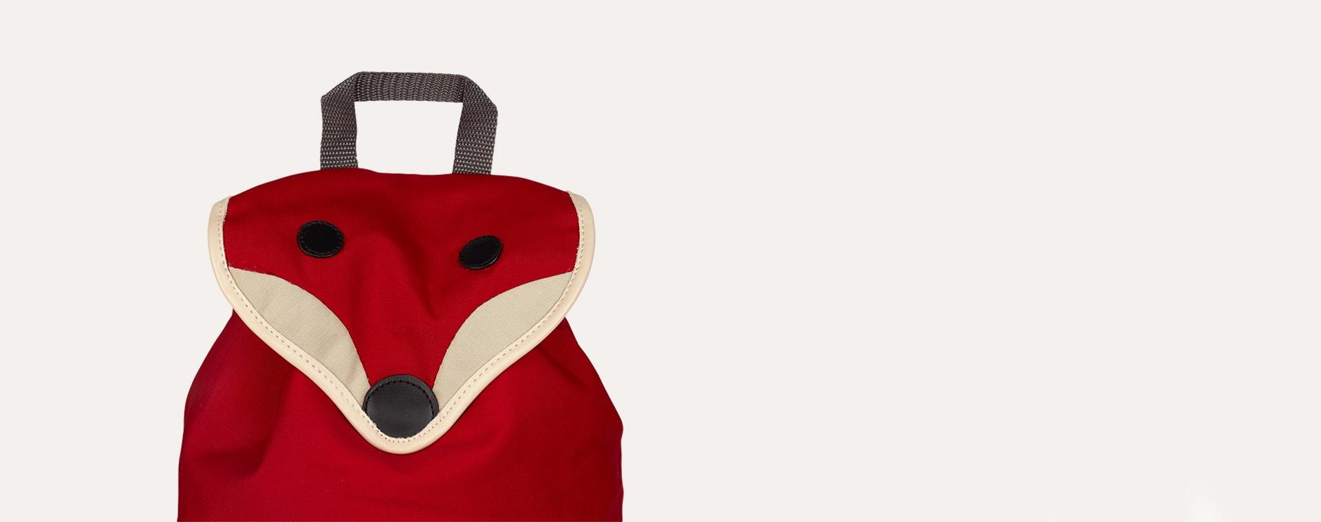 Red Franck & Fischer Hilda Fox Backpack
