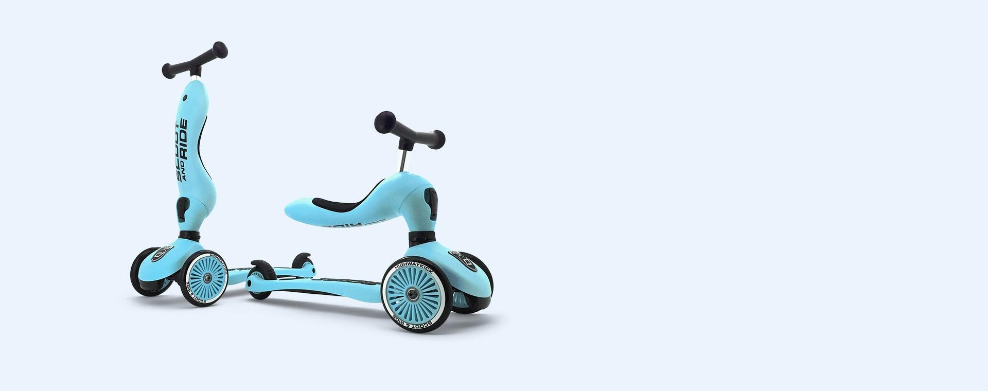 Blueberry Scoot & Ride Highwaykick 1