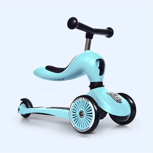 Blueberry Scoot & Ride Highwaykick 1