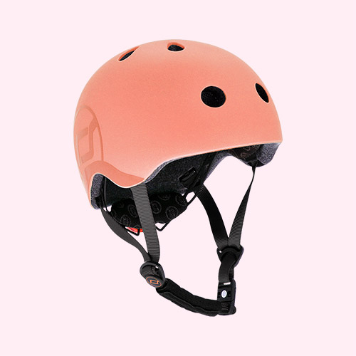 Peach Scoot & Ride Helmet