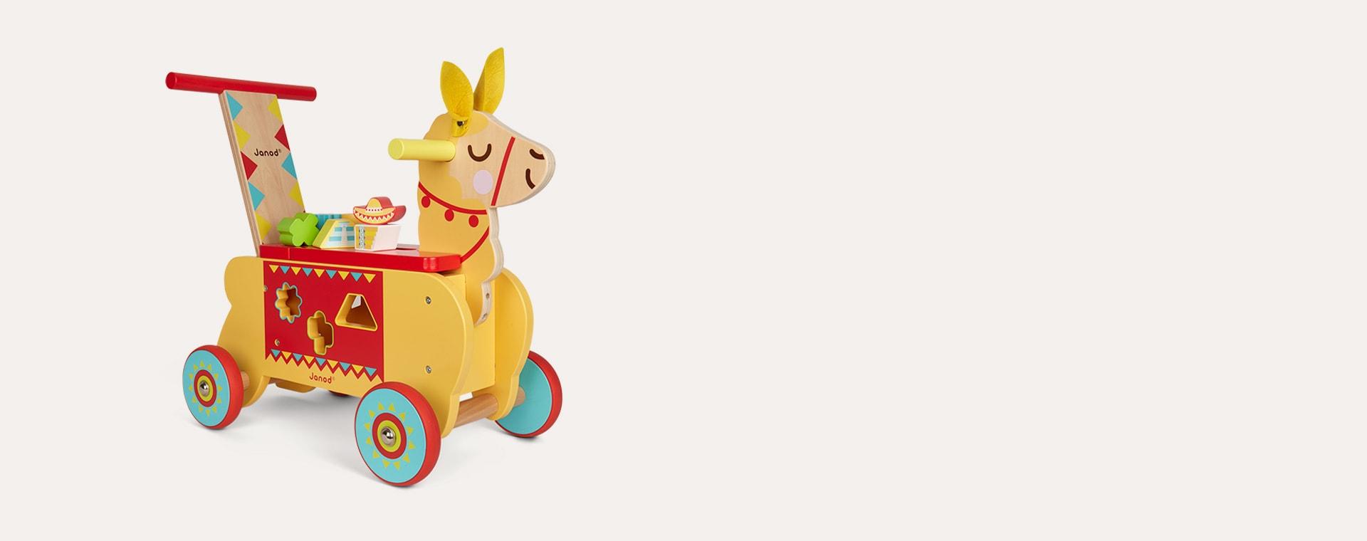 Buy The Janod Llama Ride On At Kidly Uk