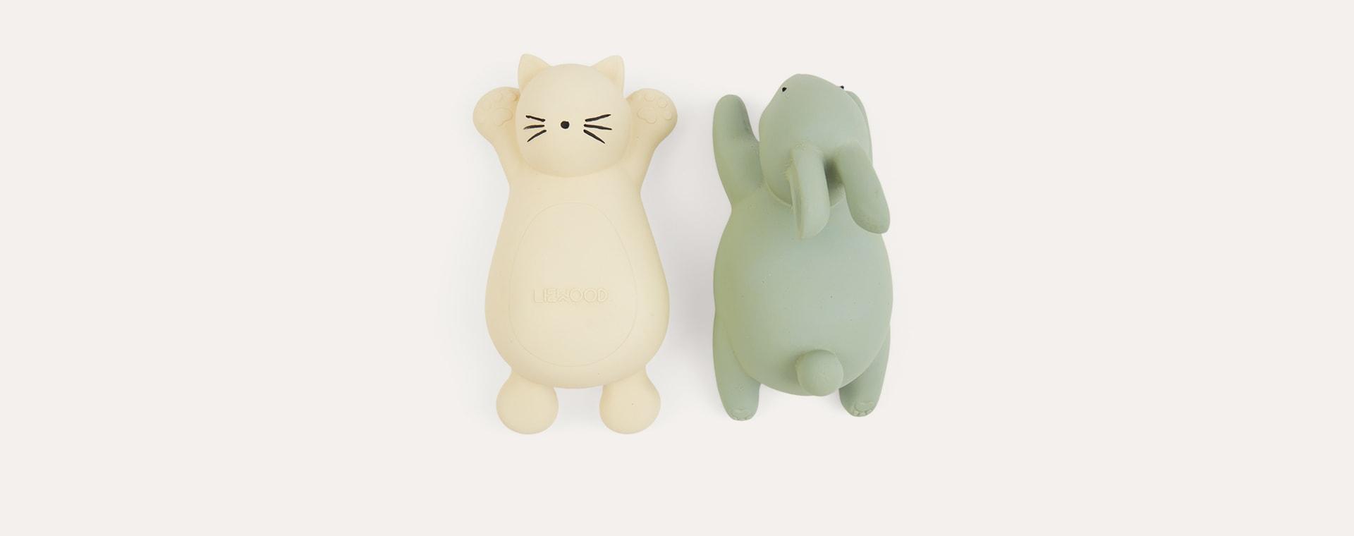Cat Creme de la Creme Liewood Vikky Bath Toy - 2 Pack