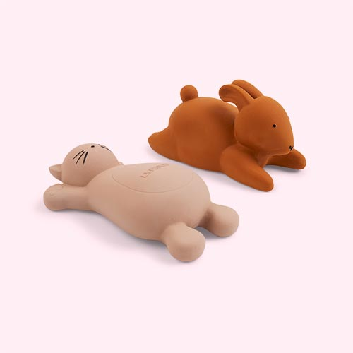 Cat Rose Liewood Vikky Bath Toy - 2 Pack