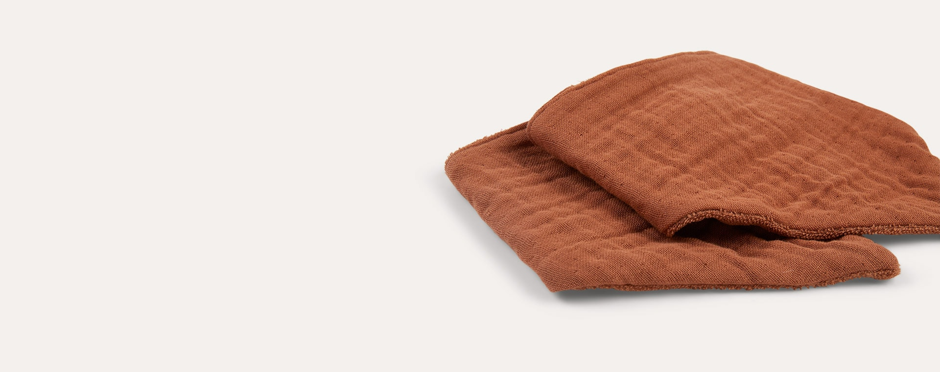 Terracotta Liewood Andrea Bib 2 Pack
