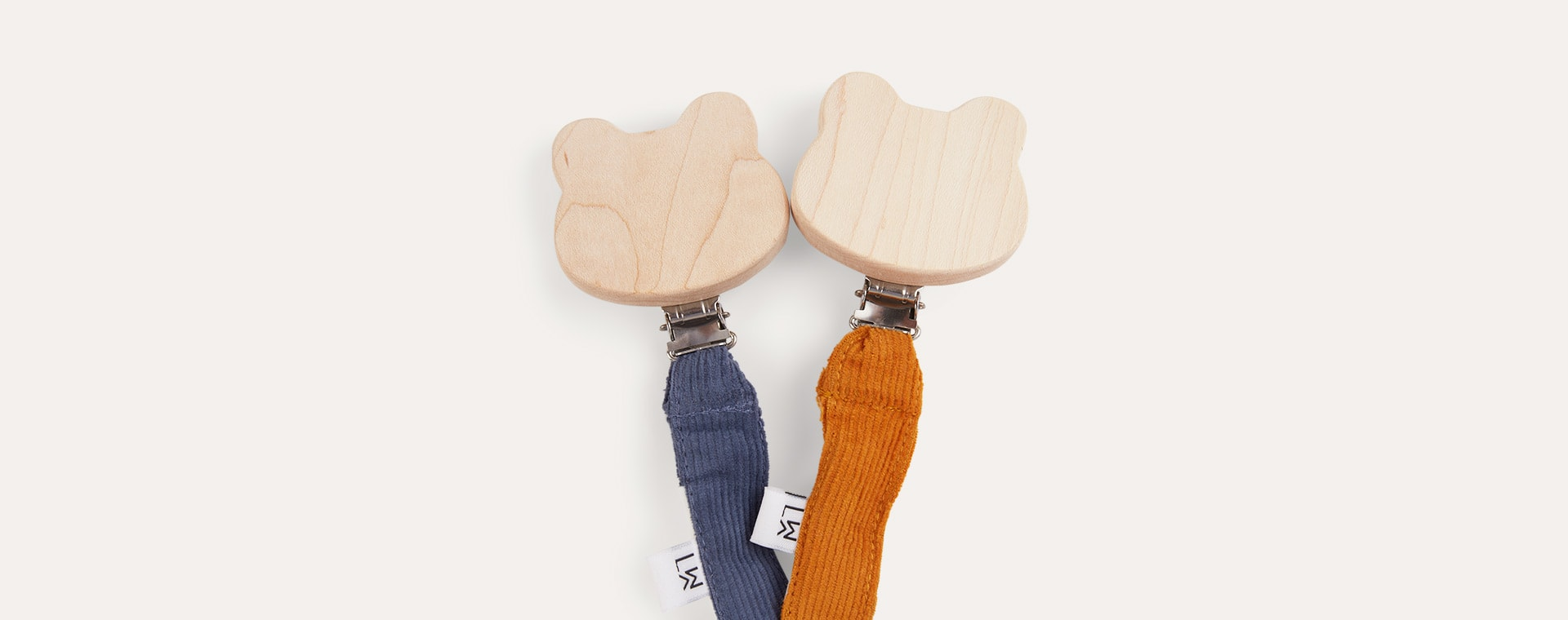Mustard/Bluewave Liewood Barry Pacifier Strap