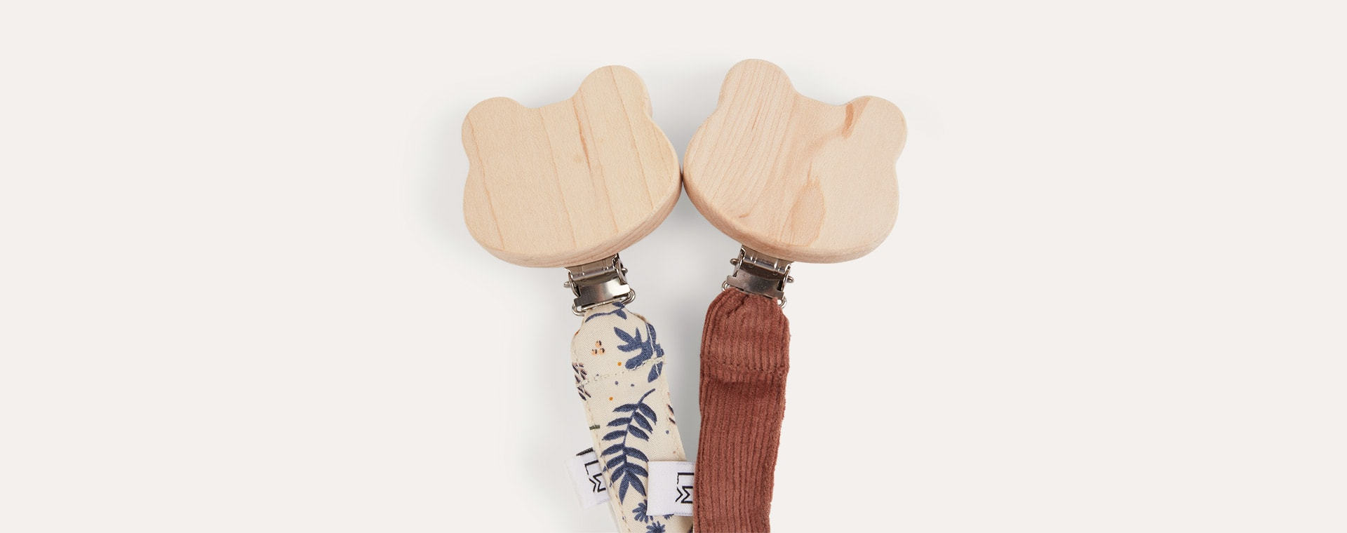 Floral Mix/Dark Rose Liewood Barry Pacifier Strap