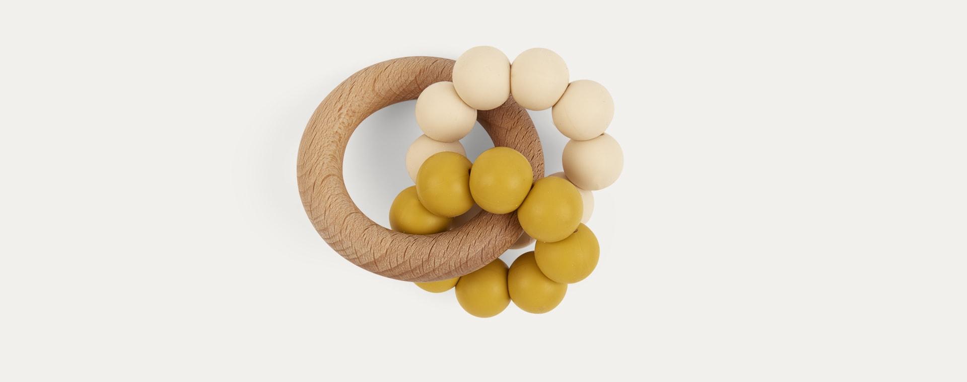 Mustard Blossom & Bear Ombre Teether