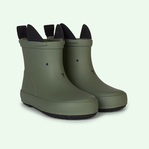 Rabbit Faune Green Liewood Tobi Rain Boot