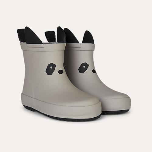 Panda Dumbo Grey Liewood Tobi Rain Boot