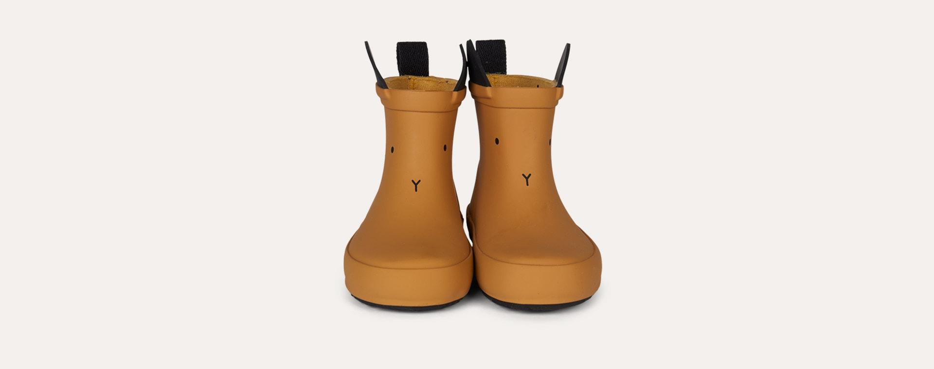 Rabbit Mustard Liewood Tobi Rain Boot