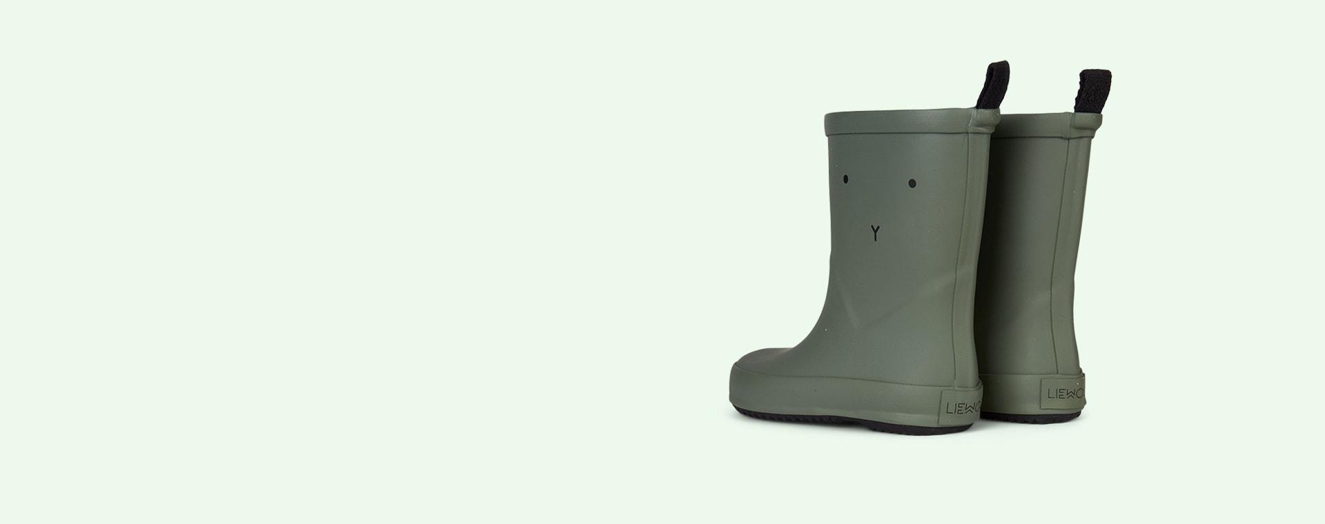 Rabbit Faune Green Liewood Rio Rain Boot