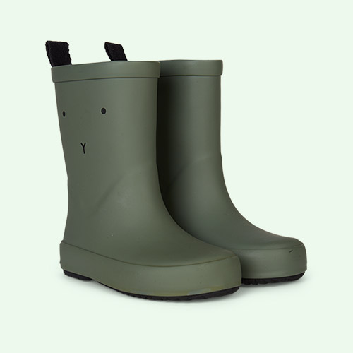 Rabbit Faune Green Liewood Rio Rain Boot