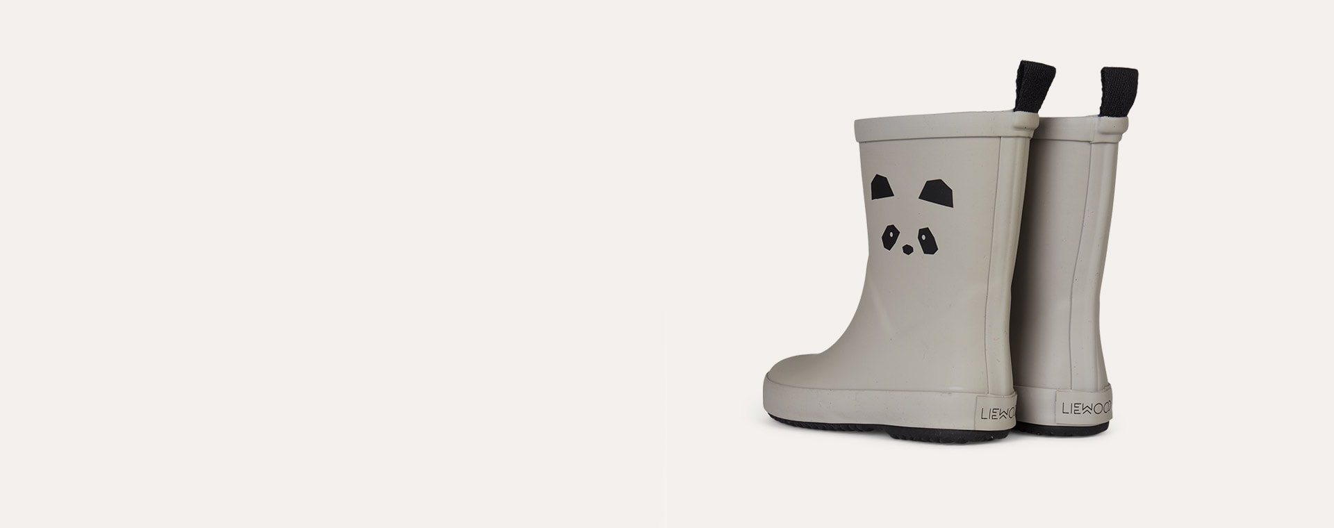 Panda Dumbo Grey Liewood Rio Rain Boot