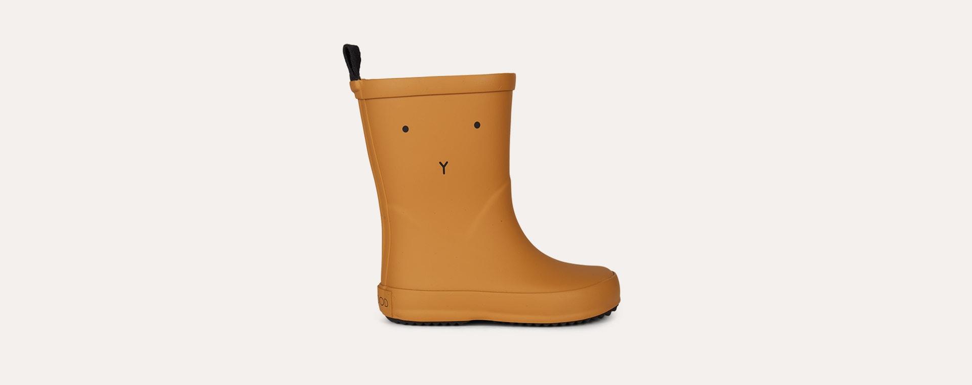 Mustard Liewood Rio Rain Boot