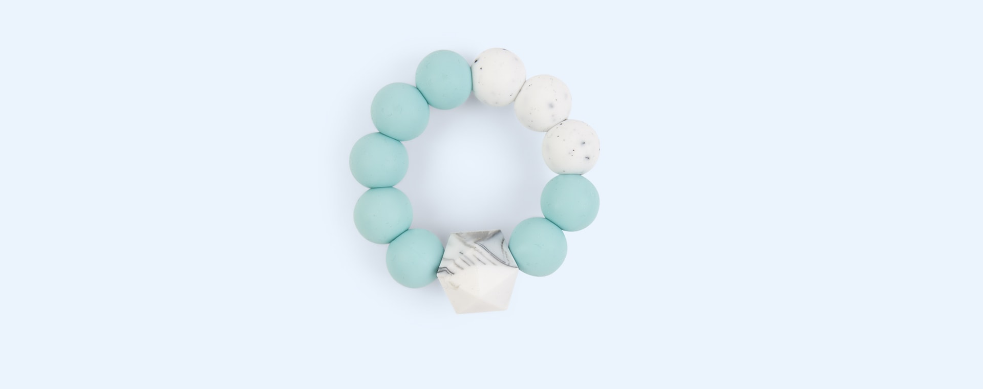 Mint Blossom & Bear Colour Pop Teether