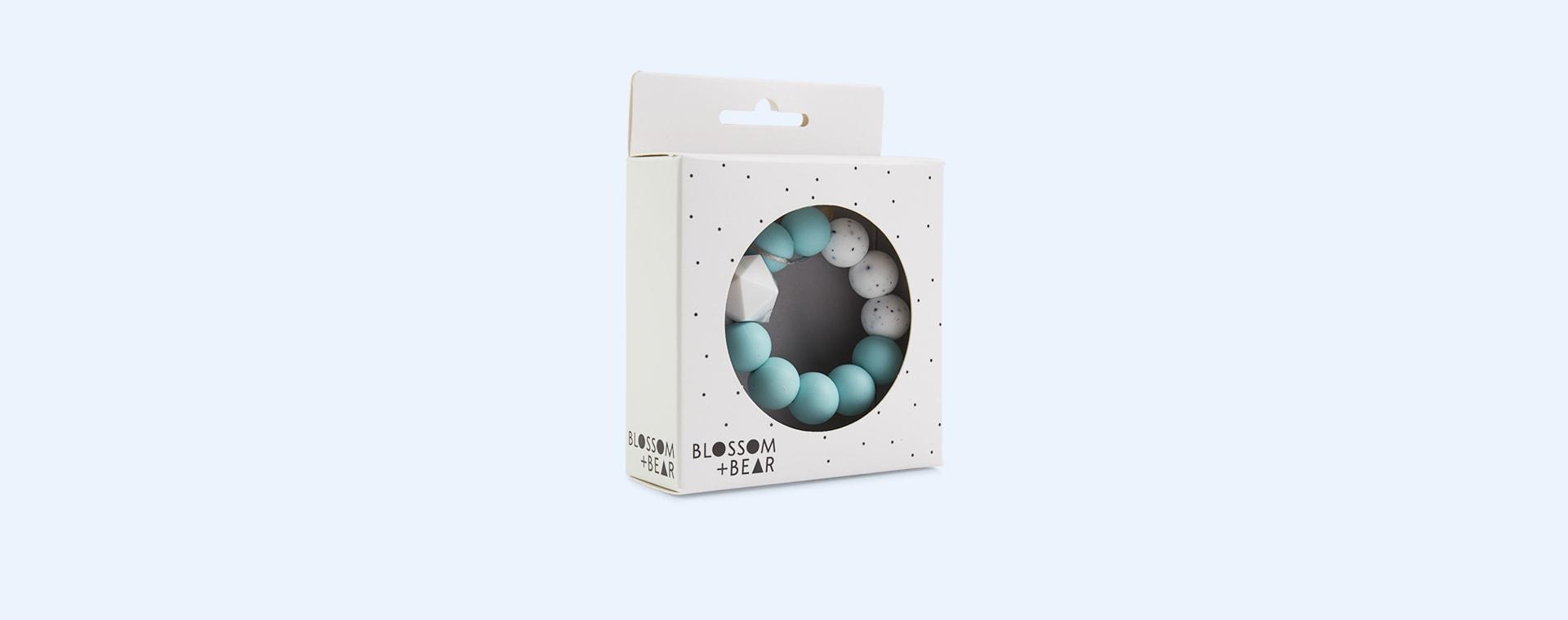Mint Blossom & Bear Colour Pop Teether