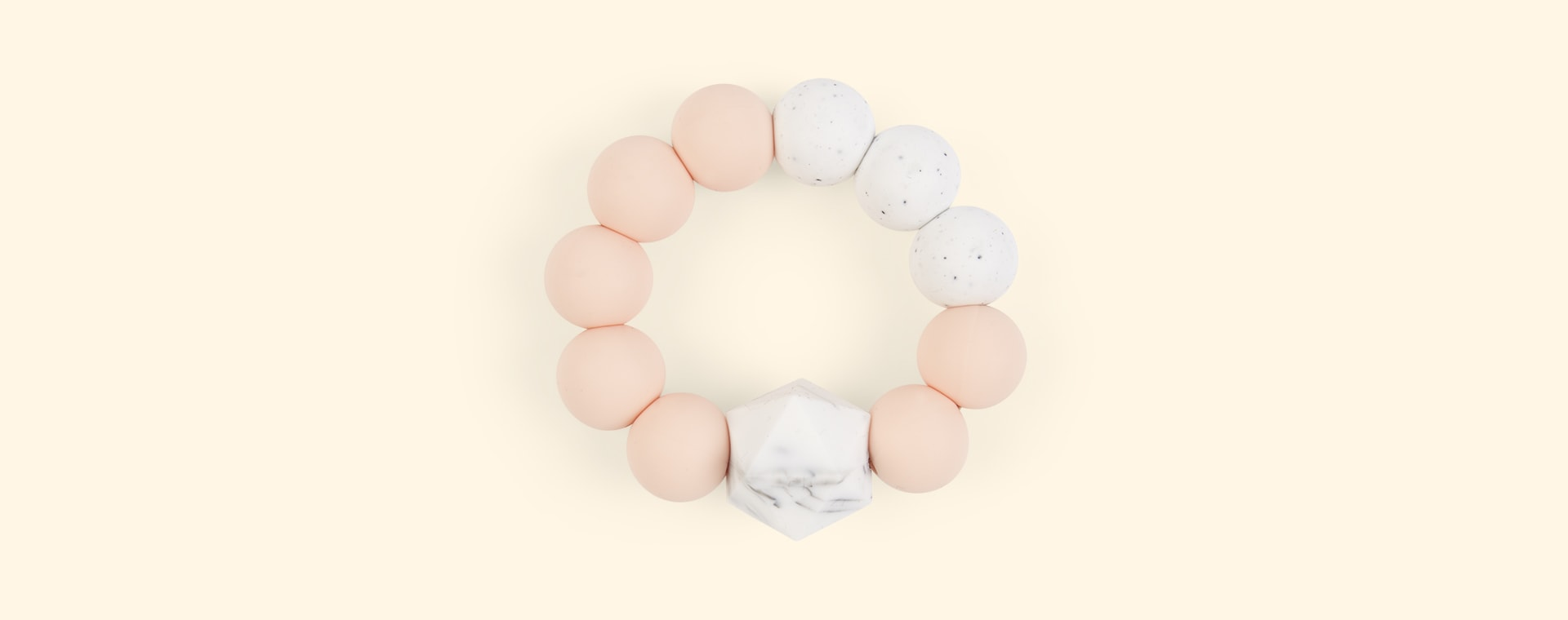 Peach Blossom & Bear Colour Pop Teether