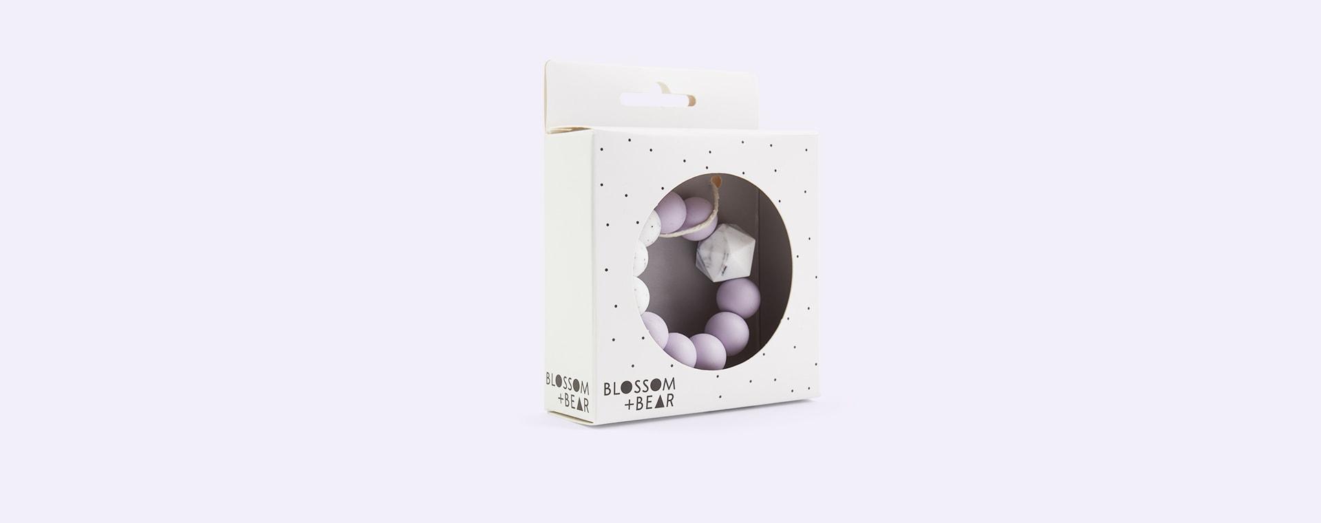 Lilac Blossom & Bear Colour Pop Teether