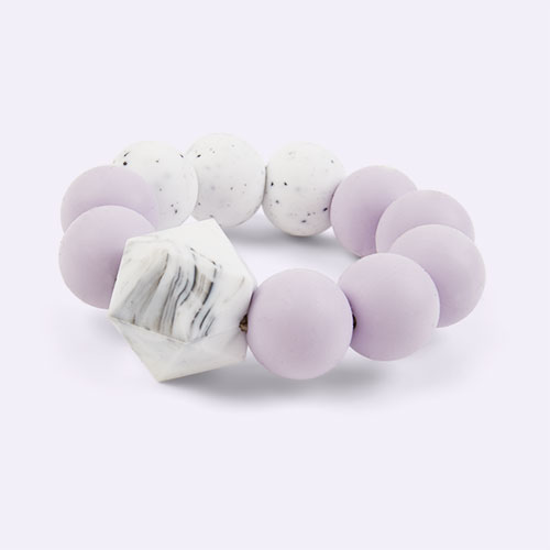 Lilac Blossom & Bear Colour Pop Teether