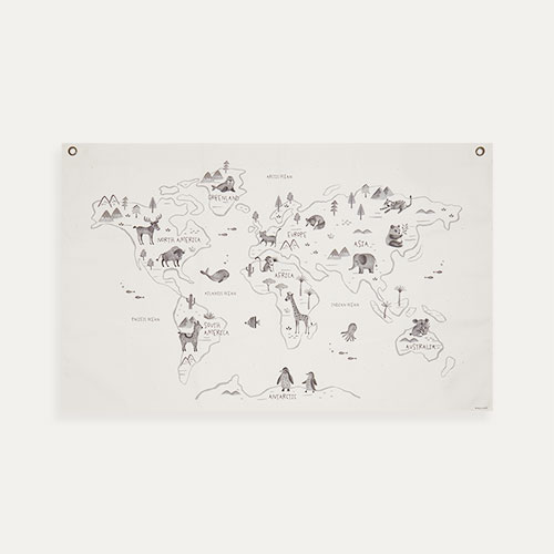 Off White Rose In April The World Map