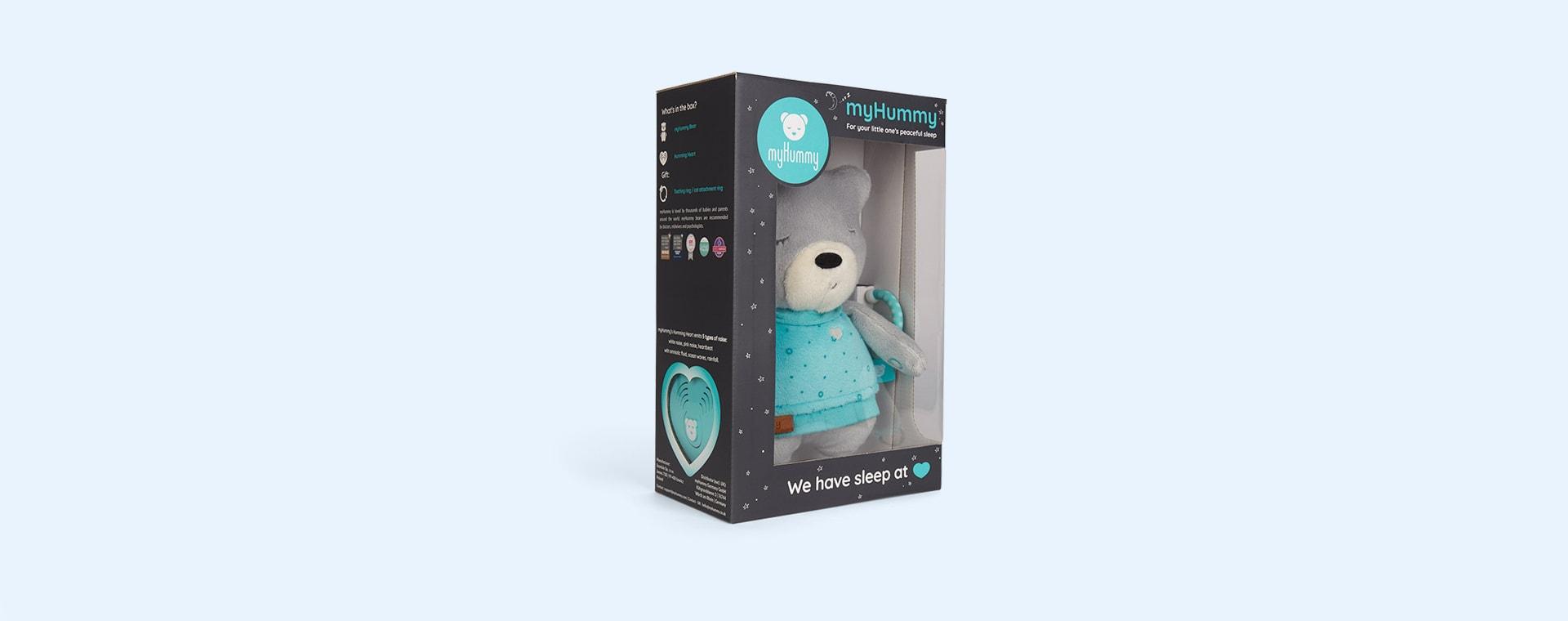 Grey myHummy Lily With Sleep Sensor Heart And Bluetooth