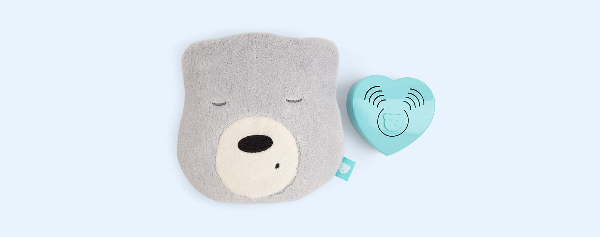 Grey myHummy Mini With Sleep Sensor Heart