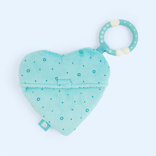 Grey myHummy Portable Humming Heart Pouch
