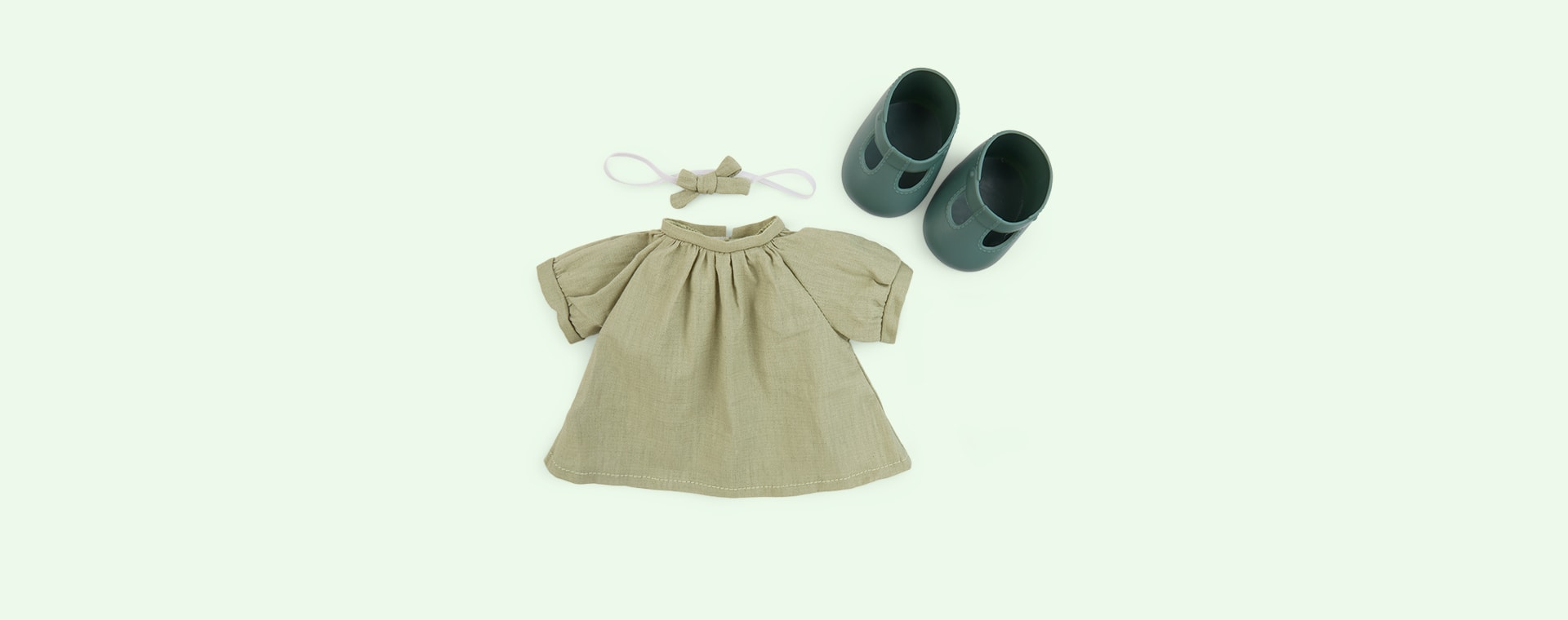Mint Olli Ella Dinkum Doll Travel Togs