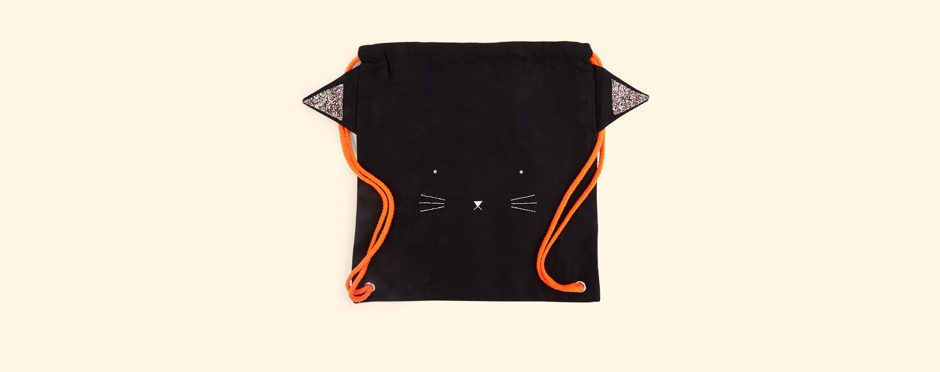 Black Meri Meri Spooky Black Cat Backpack