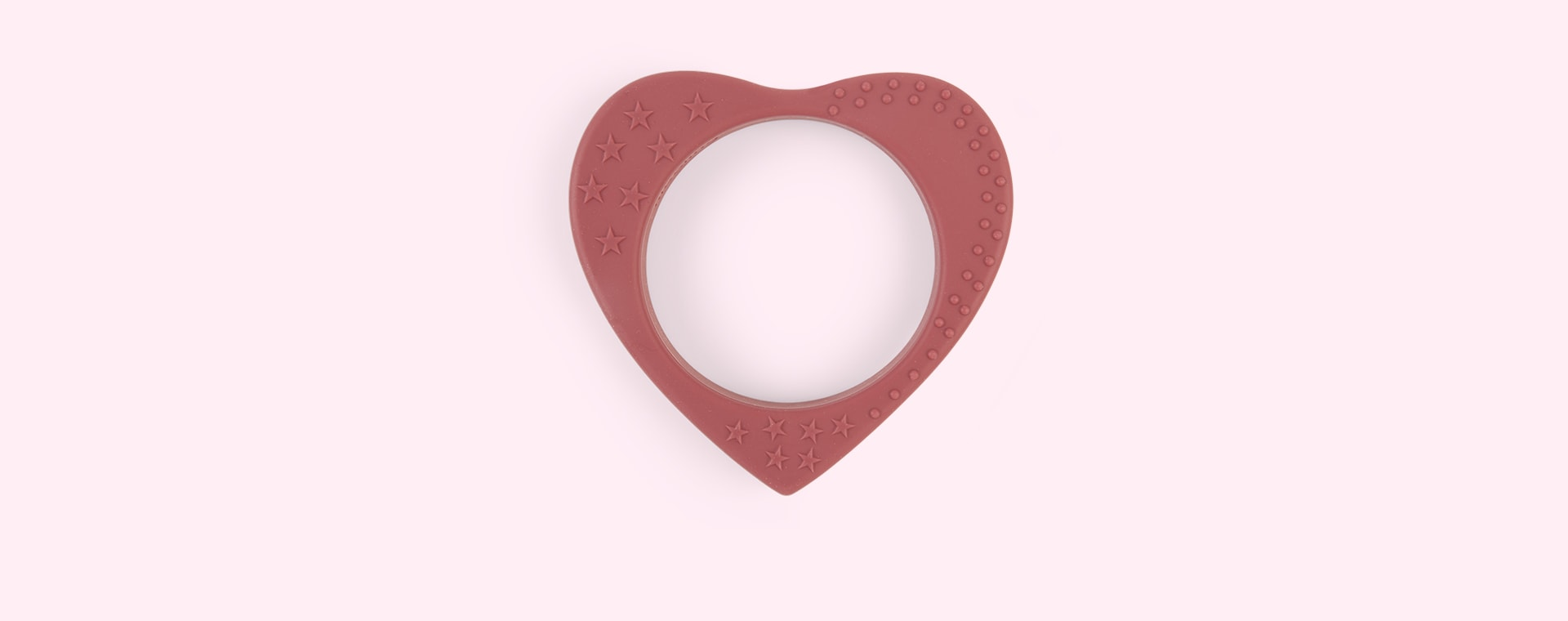 Pomegranate Nibbling Heart Teether