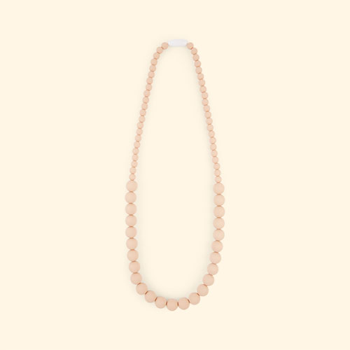 Peach Nibbling Kew Necklace
