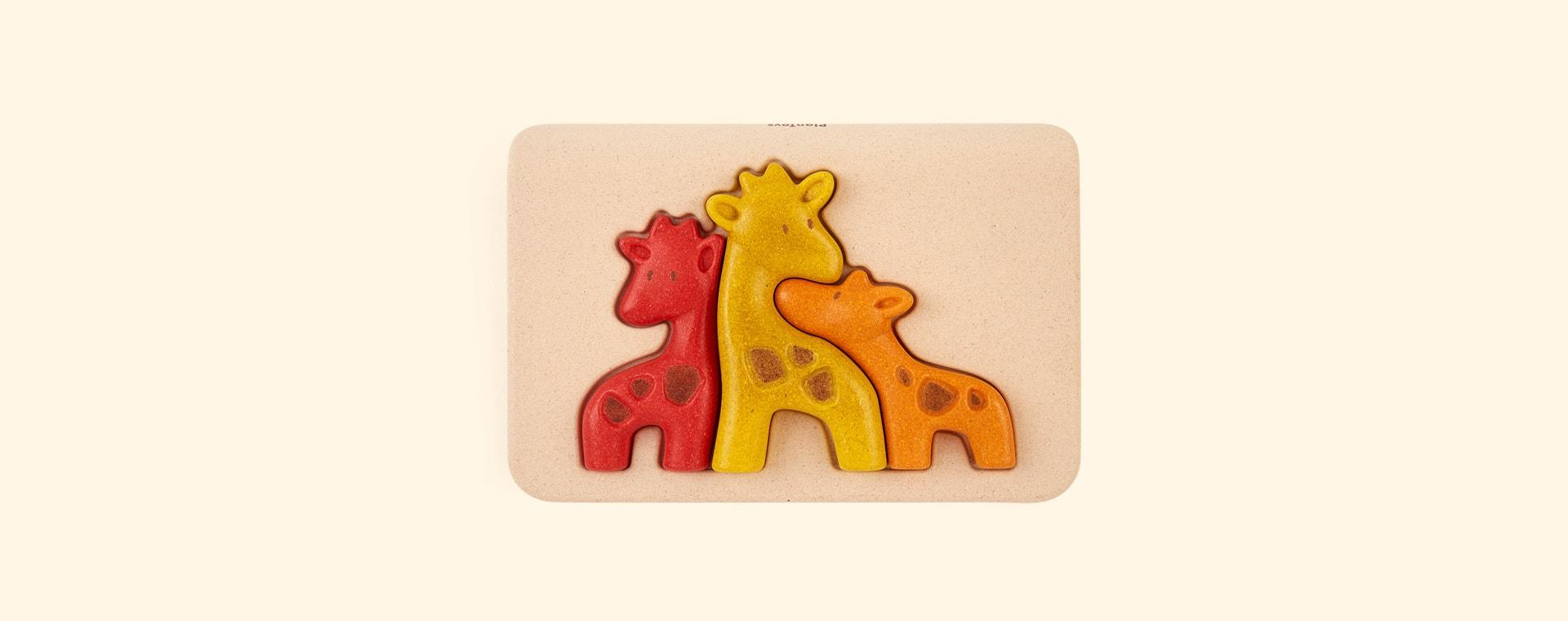Giraffe Plan Toys Puzzle