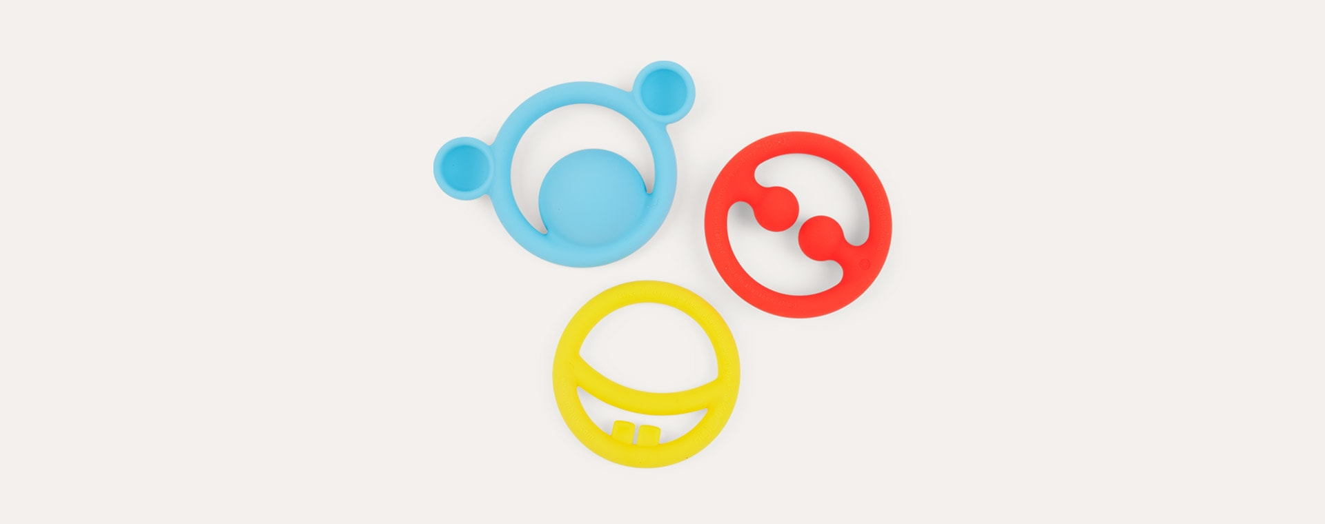 Primary Moluk Nigi, Nagi & Nogi Teething Ring