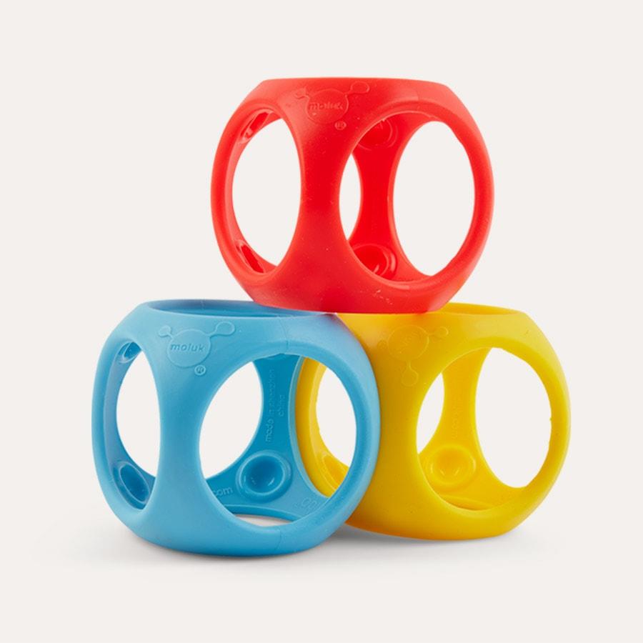 Moluk Oibo Sensory ToyPrimary Colours Tactile /& Sensory Toys for Kids 0+