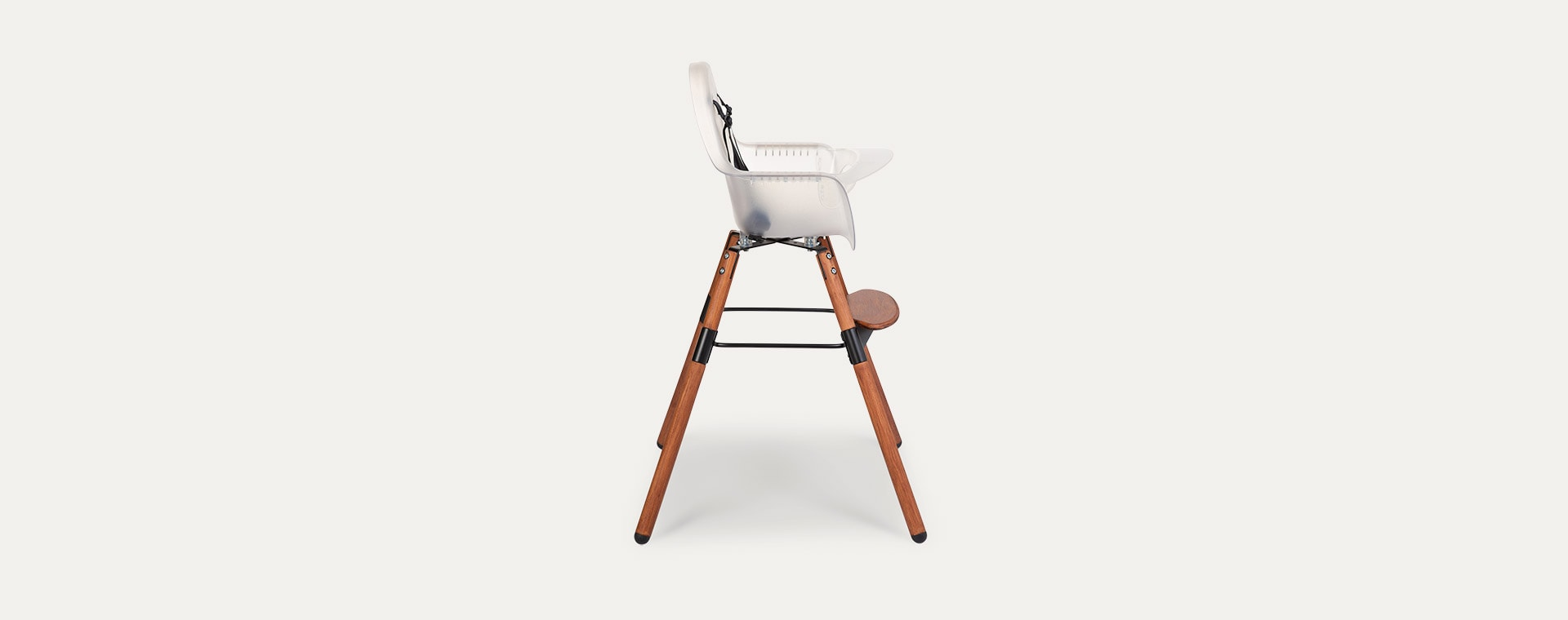 Frosted Childhome Evolu 2 Chair 2 in 1 + Bumper