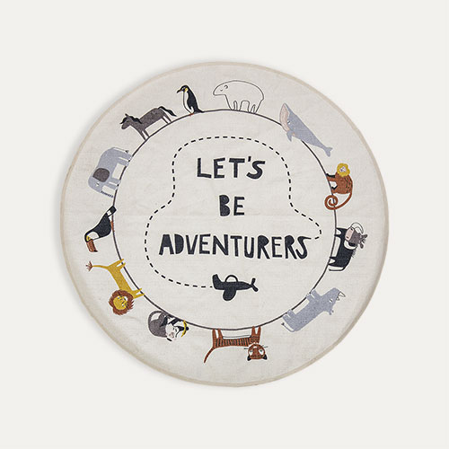 Multi Bloomingville Let's Be Adventurers Rug