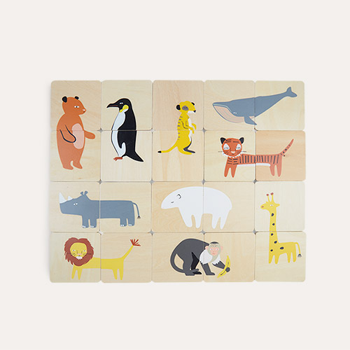 Multi Bloomingville Animal Memory Game